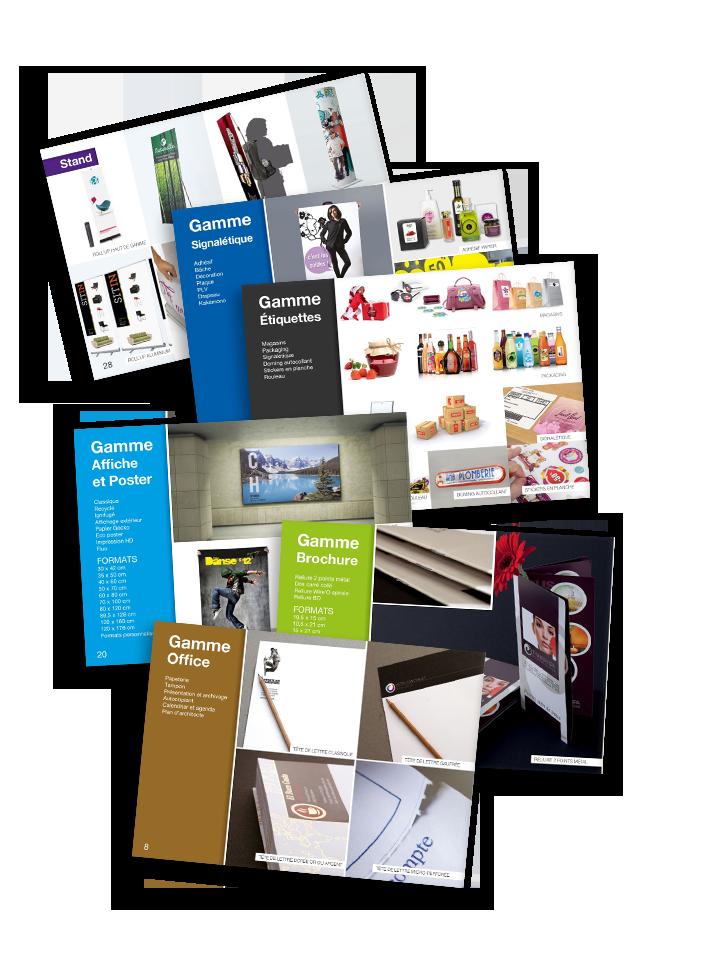 Catalogue produits Reprographic